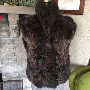 Genuine Fur Vest Vintage Fur Vest